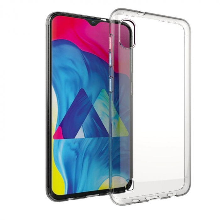 Husa Samsung Galaxy A10, A105 - Silicon, Transparent 1