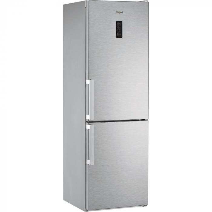 Combina frigorifica Whirlpool WDNF 82D IX H, 319 l, Clasa A++, No Frost, H 189 cm, Inox 0