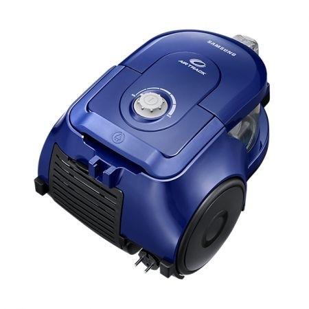 Aspirator fara sac Samsung VCC43Q0V3B, 1.3 l, 850 W, Air Track, Tub telescopic, Albastru [2]