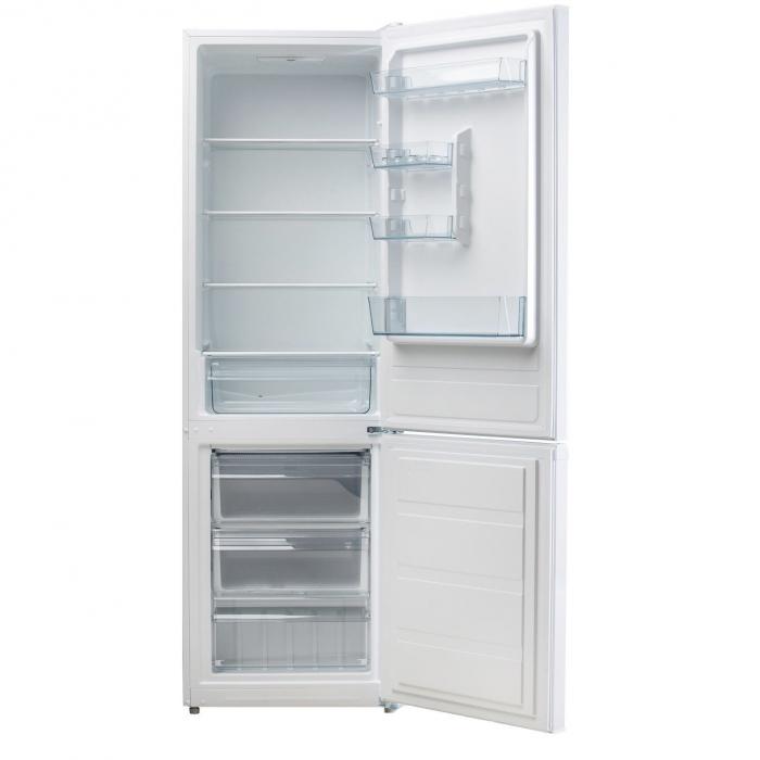 Combina frigorifica LDK CF 278 W, Clasa A+, Capacitate 271 l, Alb 2