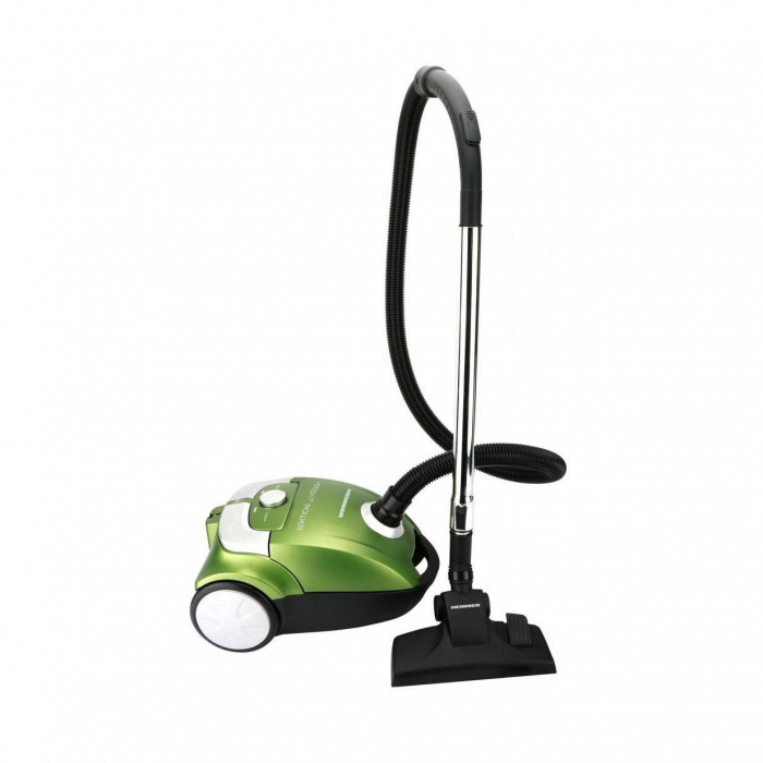 Aspirator cu sac Heinner Eco Power HVC-E700GR, 700W, Tub telescopic, Verde 2
