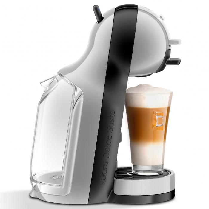 Espressor Krups Nescafe Dolce Gusto Mini-Me KP123B31, 1500 W, 0.8 l, 15 bari, Gri