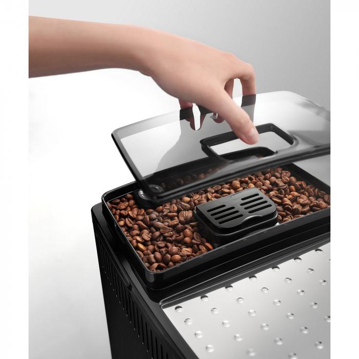 Espressor automat De'Longhi Magnifica S ECAM 22.110B, 1450W, 15 bar, 1.8 l, Negru 3