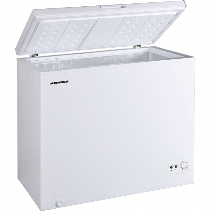 Lada frigorifica Heinner HCF-M200CA+, 198 l, Clasa A+, Sistem Convertibil Frigider/Congelator, Control mecanic, Alb 1