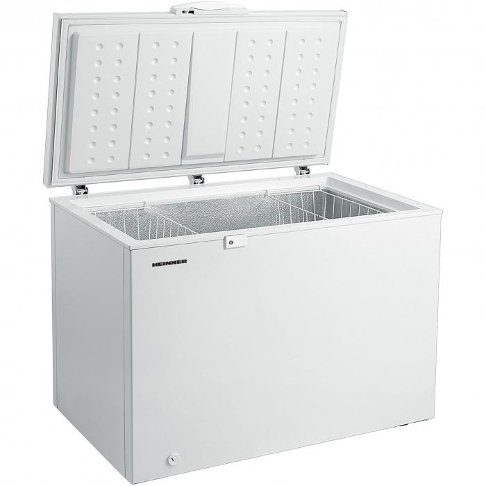 Lada frigorifica Heinner HCF-M300EA++, 301L, Display LED pe maner, Winter Protection, Clasa A++ 85cm, Alb 2