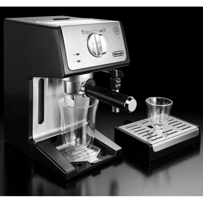 Espressor cu pompa De'Longhi ECP 35.31, 1100 W, 15 bar, 1.1 l, Negru 5