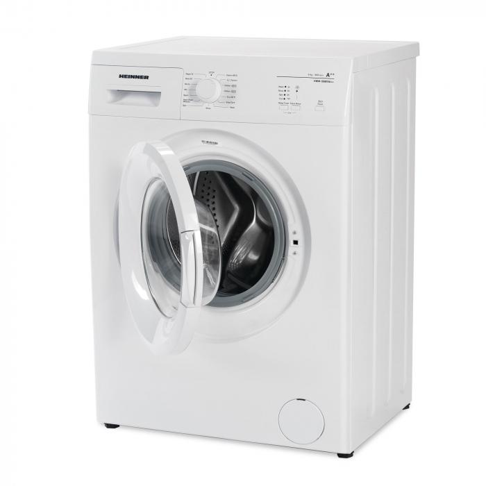 Masina de spalat rufe Heinner HWM-5080VA++, 5kg, 800 RPM, Clasa A++, Functie start intarziat, Sistem Eco Logic, 60 cm, Alb 2