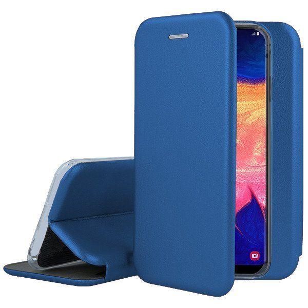 Husa Samsung Galaxy A10 Flip Case Elegance Blue 1