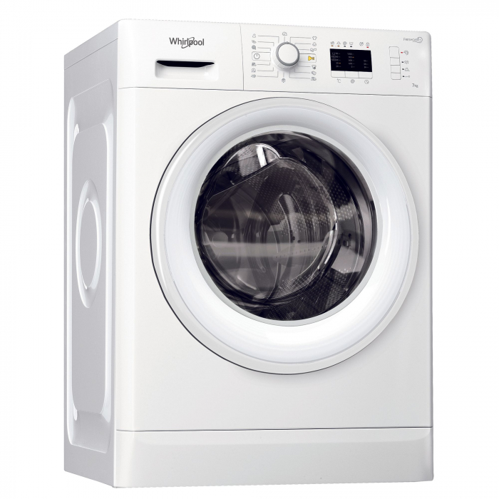Masina de spalat rufe Whirlpool FreshCare FWL71452W EU, 7 kg, 1400 RPM, Clasa A++, Alb 0