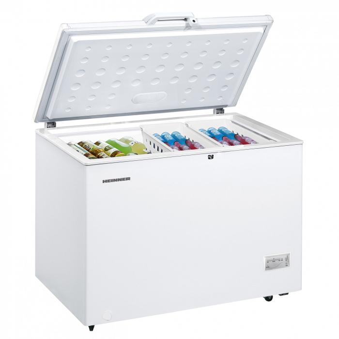 Lada frigorifica Heinner HCF-316NHA+, 316 l, Clasa A+, Alb, Winter Protection 1