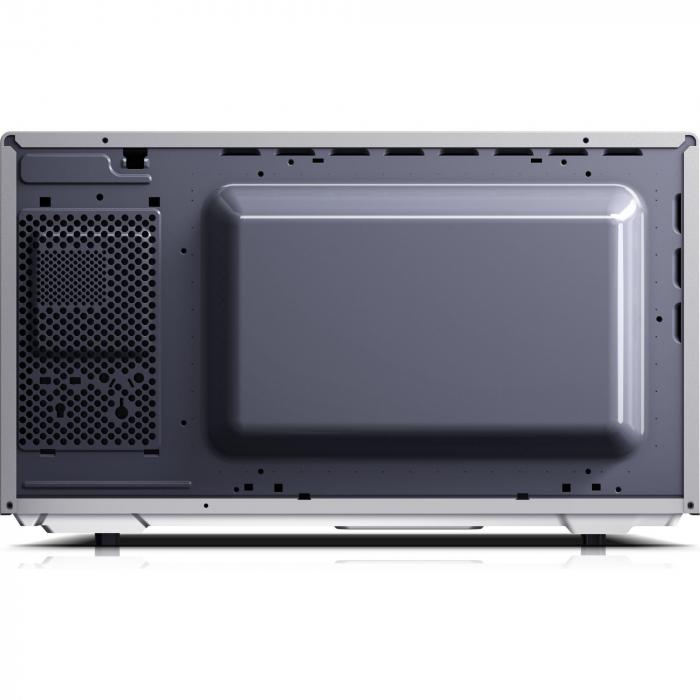 Cuptor cu microunde Sharp YCMS51ES, 25L, 900W, Gril 1000W, Digital, Argintiu 3