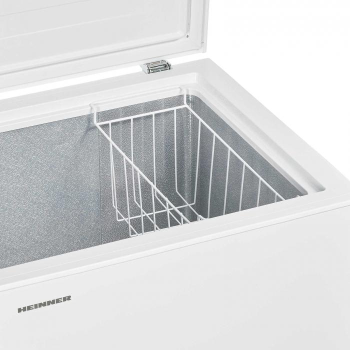 Lada frigorifica Heinner HCF-H145A+, 142 l, Control mecanic, Clasa A+, Alb 1