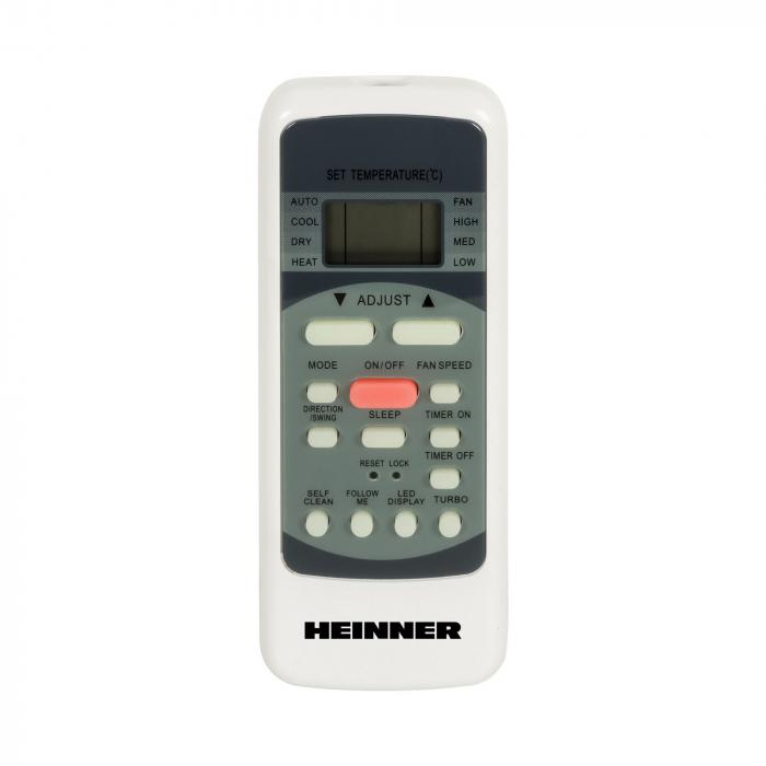 Aparat de aer conditionat Heinner HAC-9INVB Inverter, 9000 BTU, ClasaA++,Display LCD, Auto Restart, Autodiagnoza 3