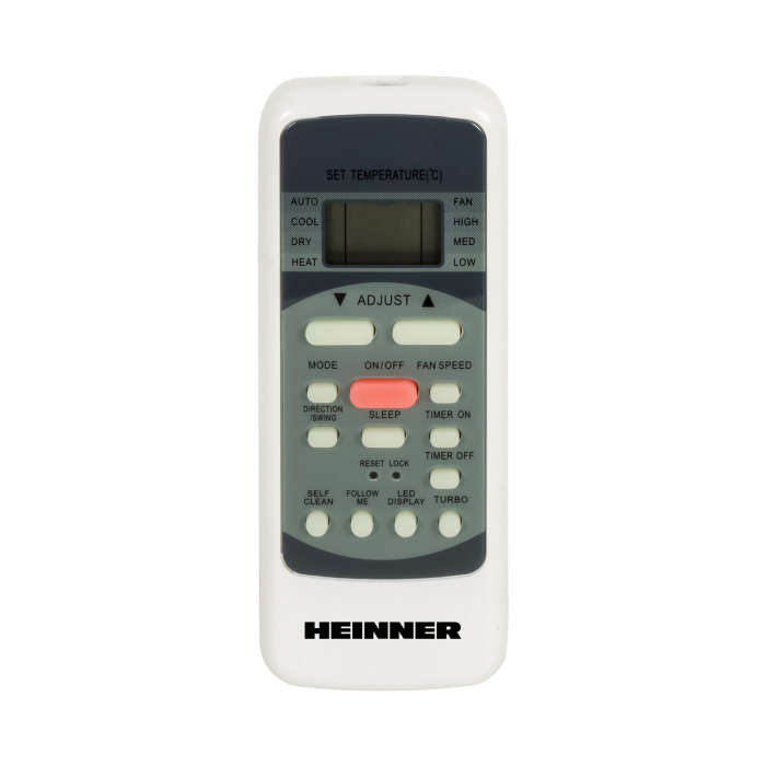 Aparat de aer conditionat Heinner HAC-09SL++ Inverter, 9000 BTU, Clasa A++, Display LCD, Auto Restart, Autodiagnoza, Gri lucios [2]