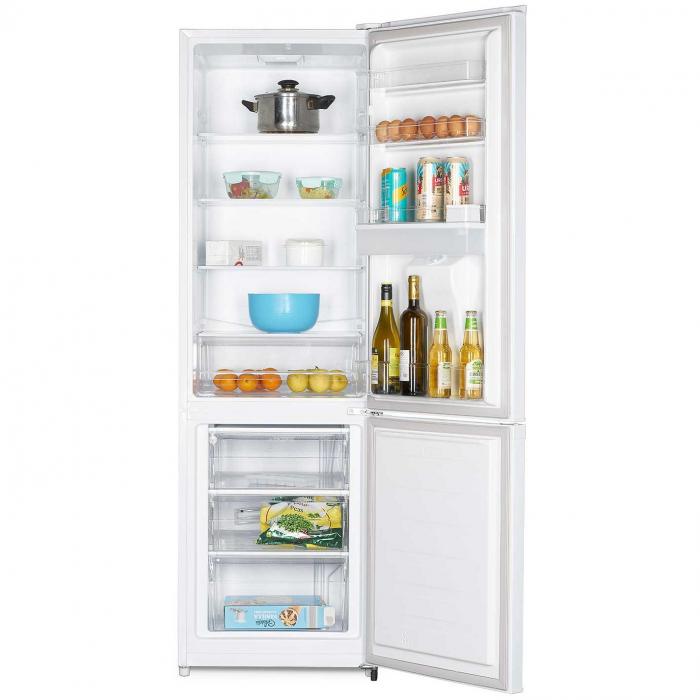 Combina frigorifica Heinner HC-N262WD+, 262 l, Dozator de apa, Clasa A+, H 180 cm, Alb 7