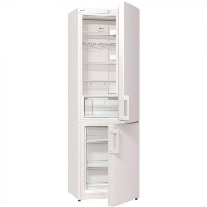 Combina frigorifica Gorenje NRK6191CW, 307 l, Clasa A+, No Frost Plus, 185 cm, Alb 0