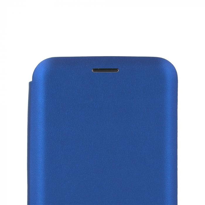 Husa tip carte smart diva albastru pentru Samsung J4 Plus 1