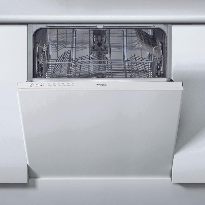 Masina de spalat vase incorporabila Whirlpool WIE 2B19, 6 programe, 13 seturi, Clasa A+, 60 cm 0