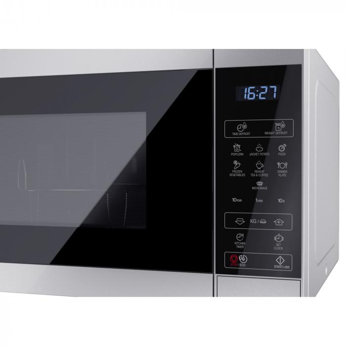 Cuptor cu microunde Sharp YCMS51ES, 25L, 900W, Gril 1000W, Digital, Argintiu 4