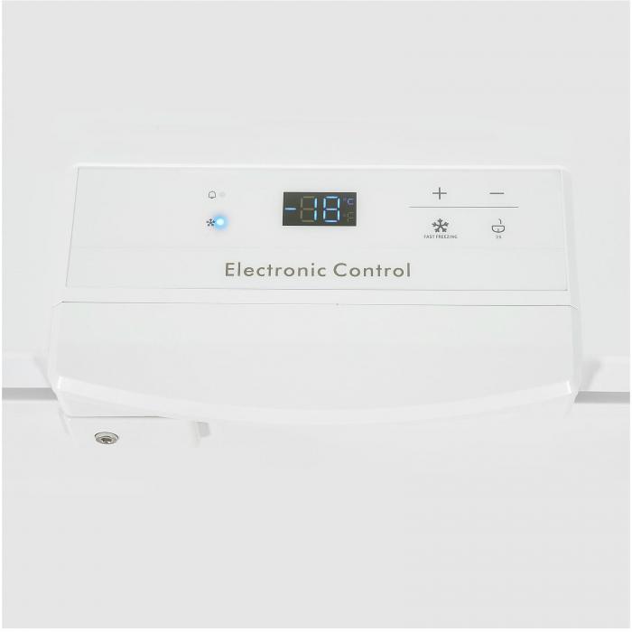 Lada frigorifica Heinner HCF-M300EA++, 301L, Display LED pe maner, Winter Protection, Clasa A++ 85cm, Alb 1