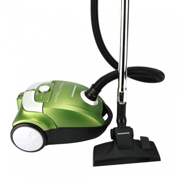 Aspirator cu sac Heinner Eco Power HVC-E700GR, 700W, Tub telescopic, Verde 1