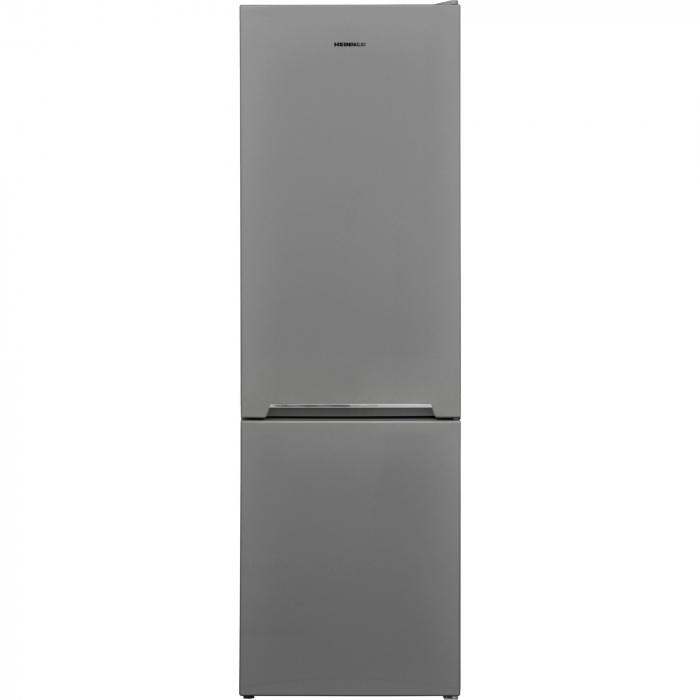 Combina frigorifica Heinner HC-V268SA+, 268 l, Clasa A+, Control mecanic, H 170 cm, Argintiu 0