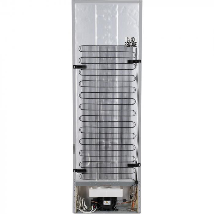 Combina frigorifica Heinner HC-V336XA++, 336 l, Clasa A++, H 186 cm, Tehnologie Less Frost, Control mecanic cu termostat ajustabil, Argintiu [7]