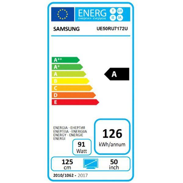 Televizor LED Smart Samsung, 125 cm, 50RU7172, 4K Ultra HD 14