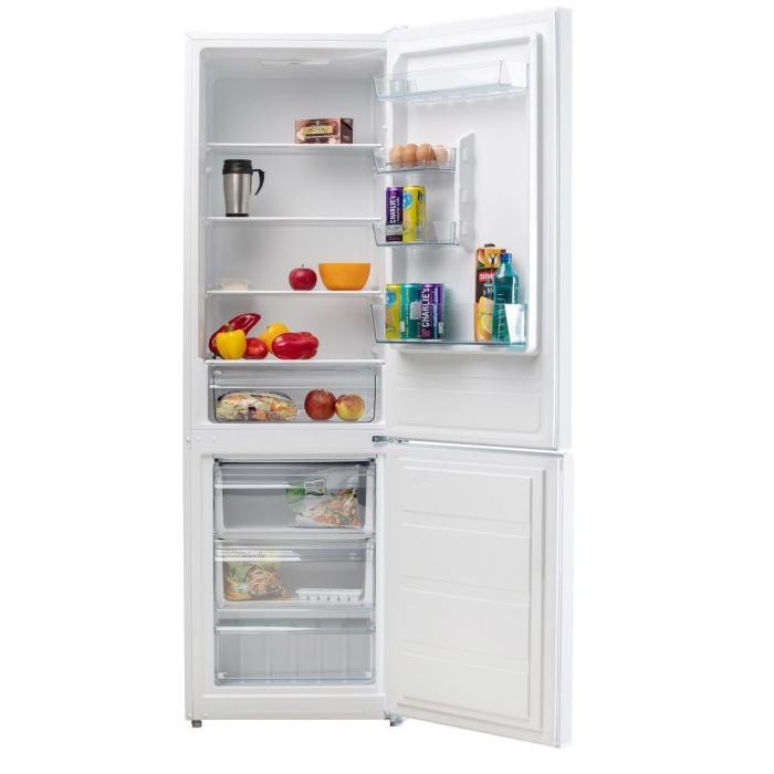 Combina frigorifica LDK CF 278 W, Clasa A+, Capacitate 271 l, Alb 3