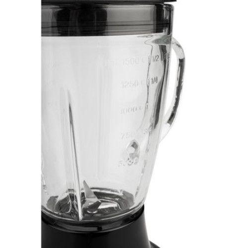 Blender Rohnson R5300, cana sticla 1.5 L, functie Pulse, lame din otel inoxidabil 1