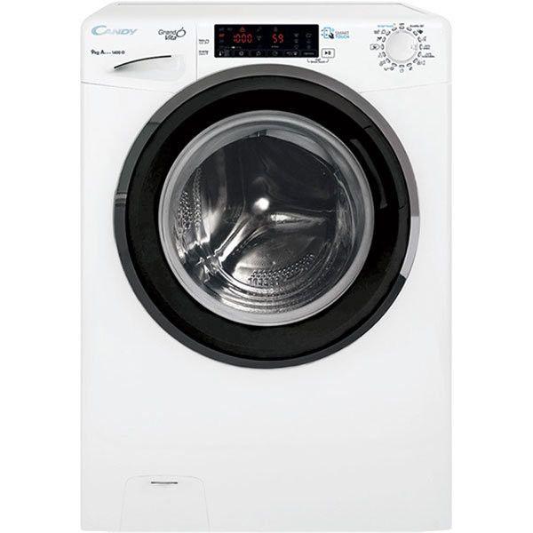 Masina de spalat rufe Candy GRAND'O VITA GVS 149THN3, 9 kg, 1400 rpm, Clasa A+++, Motor Inverter, Display Touch, Functii Smart, NFC, Voice Control, 60 cm, Alb 0