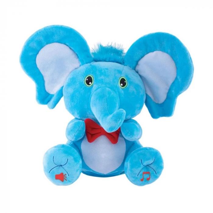 Jucarie de plus Noriel Elefant Cucu Bau - Tino Boo Elefantel 8