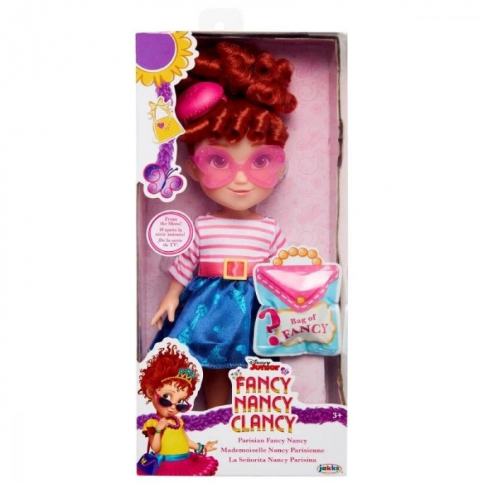Papusa Fancy Nancy Clancy, Parisian Fashion, 25 cm 0
