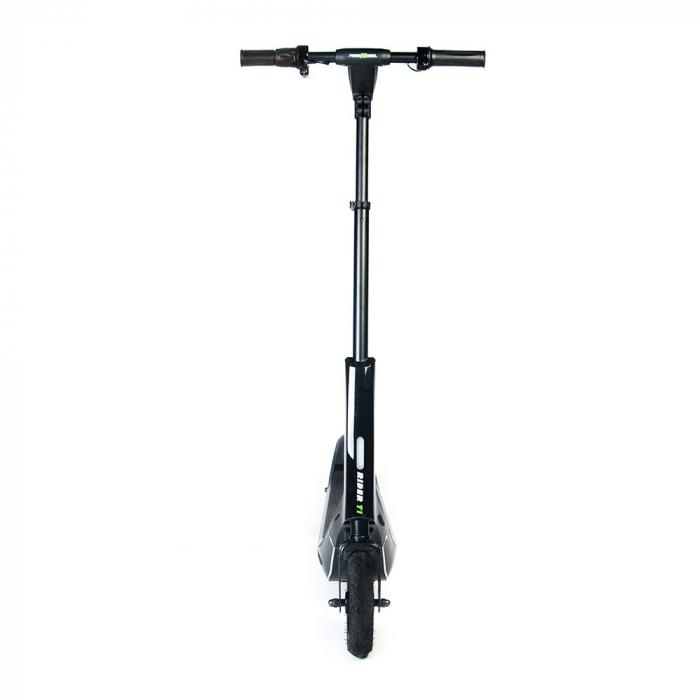 Trotineta electrica Freewheel Rider T1, Viteza 20 km/h, Autonomie 25 km, Motor 300W, Aplicatie smartphone, Roti gonflabile 8 inch, Negru 1