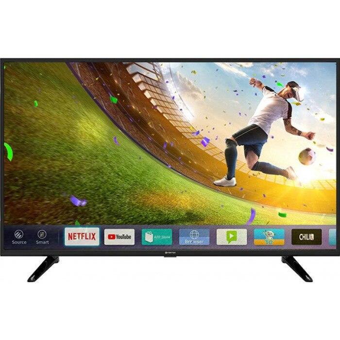 "Televizor LED Smart Vortex V43TD1200S 43"" (109 cm), Smart TV, Plat, 4K (UltraHD), Linux, Negru 0"