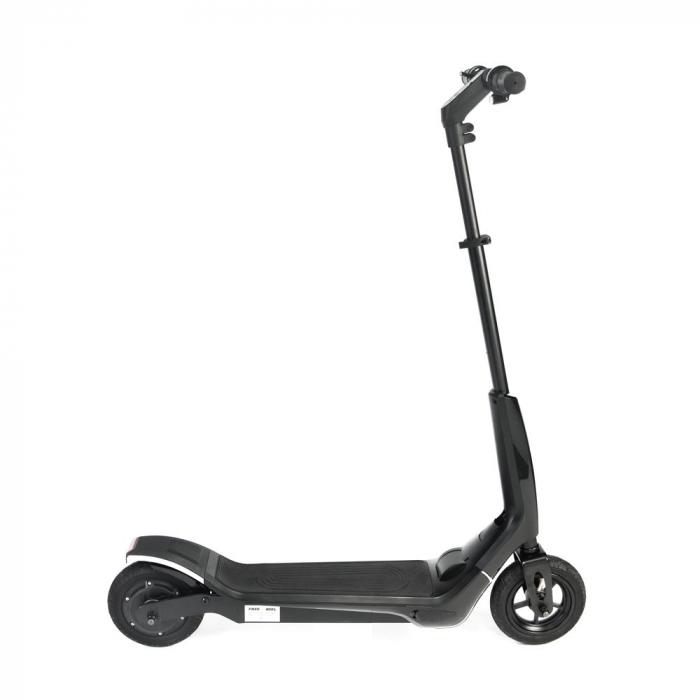 Trotineta electrica Freewheel Rider T1, Viteza 20 km/h, Autonomie 25 km, Motor 300W, Aplicatie smartphone, Roti gonflabile 8 inch, Negru 5