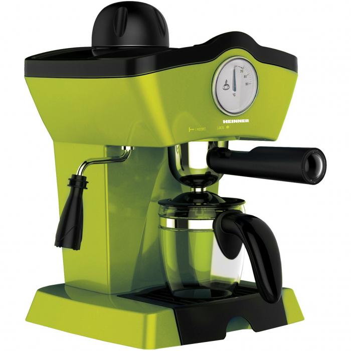 Espressor manual Heinner Charm HEM-200GR, 800W, 250ml, 3.5 bar, Verde 0