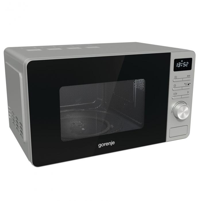 Cuptoare cu microunde Gorenje MO20A3X 1.280 W, Functie Smart Display, Metalic 2