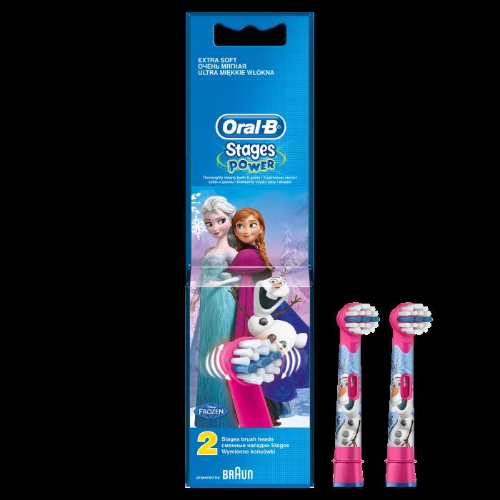 Rezerva periuta de dinti electrica pentru copii Oral-B Frozen EB10-2, 2 buc 0