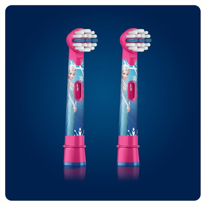 Rezerva periuta de dinti electrica pentru copii Oral-B Frozen EB10-2, 2 buc 2