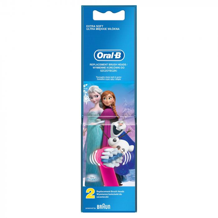 Rezerva periuta de dinti electrica pentru copii Oral-B Frozen EB10-2, 2 buc 1