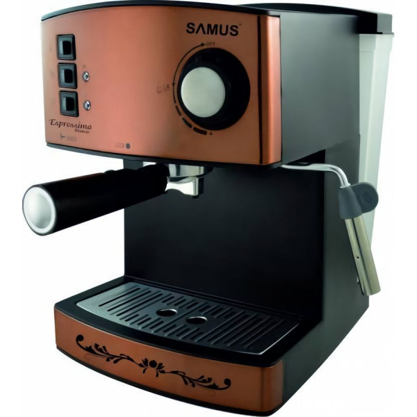 Espressor Samus Espressimo 15 bar, 850 W, Bronz 0