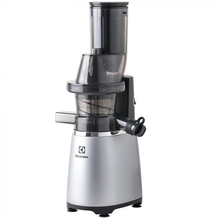 Storcator de fructe si legume Slow Juicer Electrolux ESJ4000, 150 W, Tub XXL, Recipient de suc 1.75 L, Functie Reverse, Inox 0
