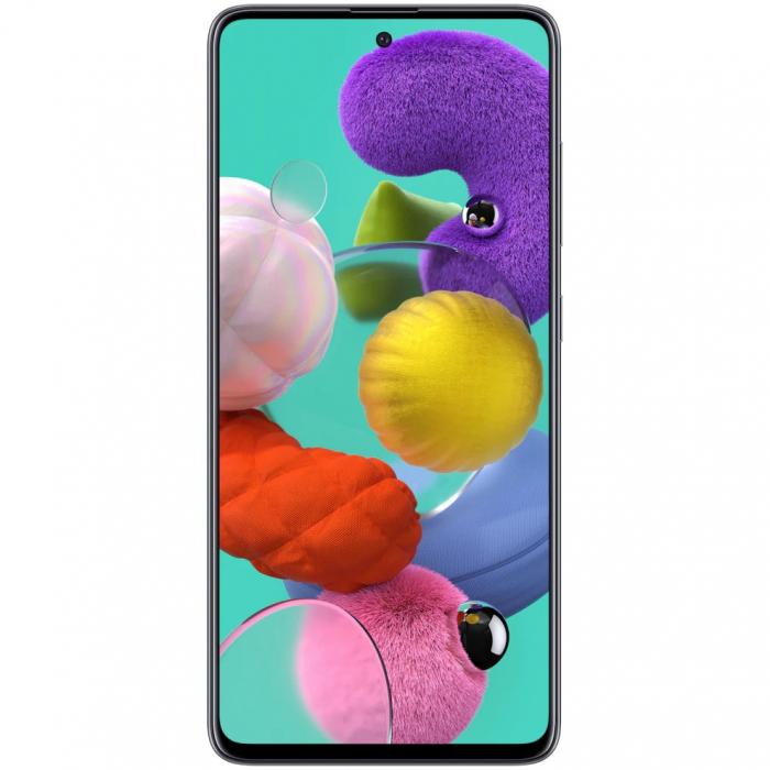 Telefon mobil Samsung Galaxy A51, Dual SIM, 128GB, 4GB RAM, 4G, Prism Black 0