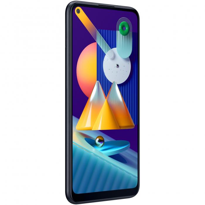 Telefon mobil Samsung Galaxy M11, Dual SIM, 32GB, 4G, Black 2