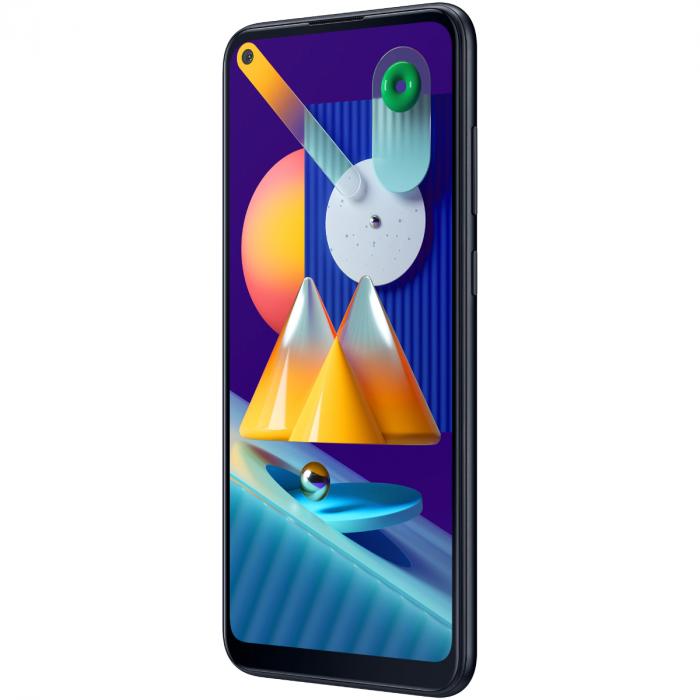 Telefon mobil Samsung Galaxy M11, Dual SIM, 32GB, 4G, Metallic Blue 3