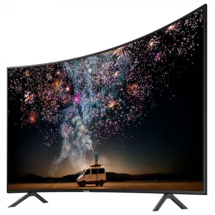 Televizor LED Curbat Smart Samsung, 163 cm, 65RU7302, 4K Ultra HD, Clasa A+ [5]