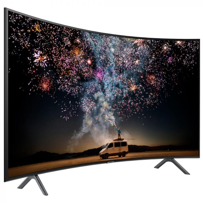 Televizor LED Curbat Smart Samsung, 163 cm, 65RU7302, 4K Ultra HD, Clasa A+ [2]