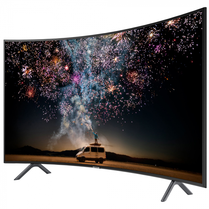 Televizor LED Curbat Smart Samsung, 163 cm, 65RU7302, 4K Ultra HD, Clasa A+ [3]