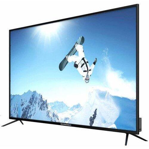 Televizor LED Schneider 190 cm 75SC670K, Ultra HD 4K, Smart TV, WiFi, CI+ 2